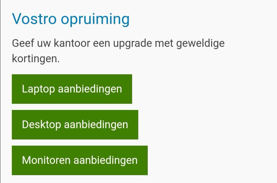Dell. Vostro laptops op=op Sale.   Scherp afgeprijsd