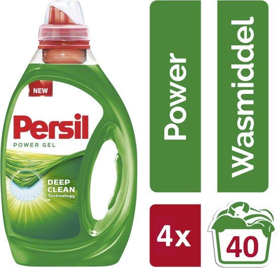 Persil Power Gel Kwartaalbox - voordeeldrogisterij via Bol.com - 18,05 euro - 0,11 euro/wasbeurt