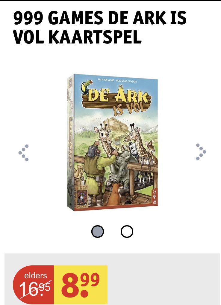 999 game: de ark is vol