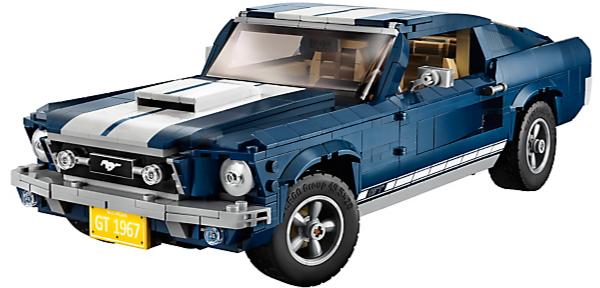 Opnieuw Lego 10265 Ford Mustang