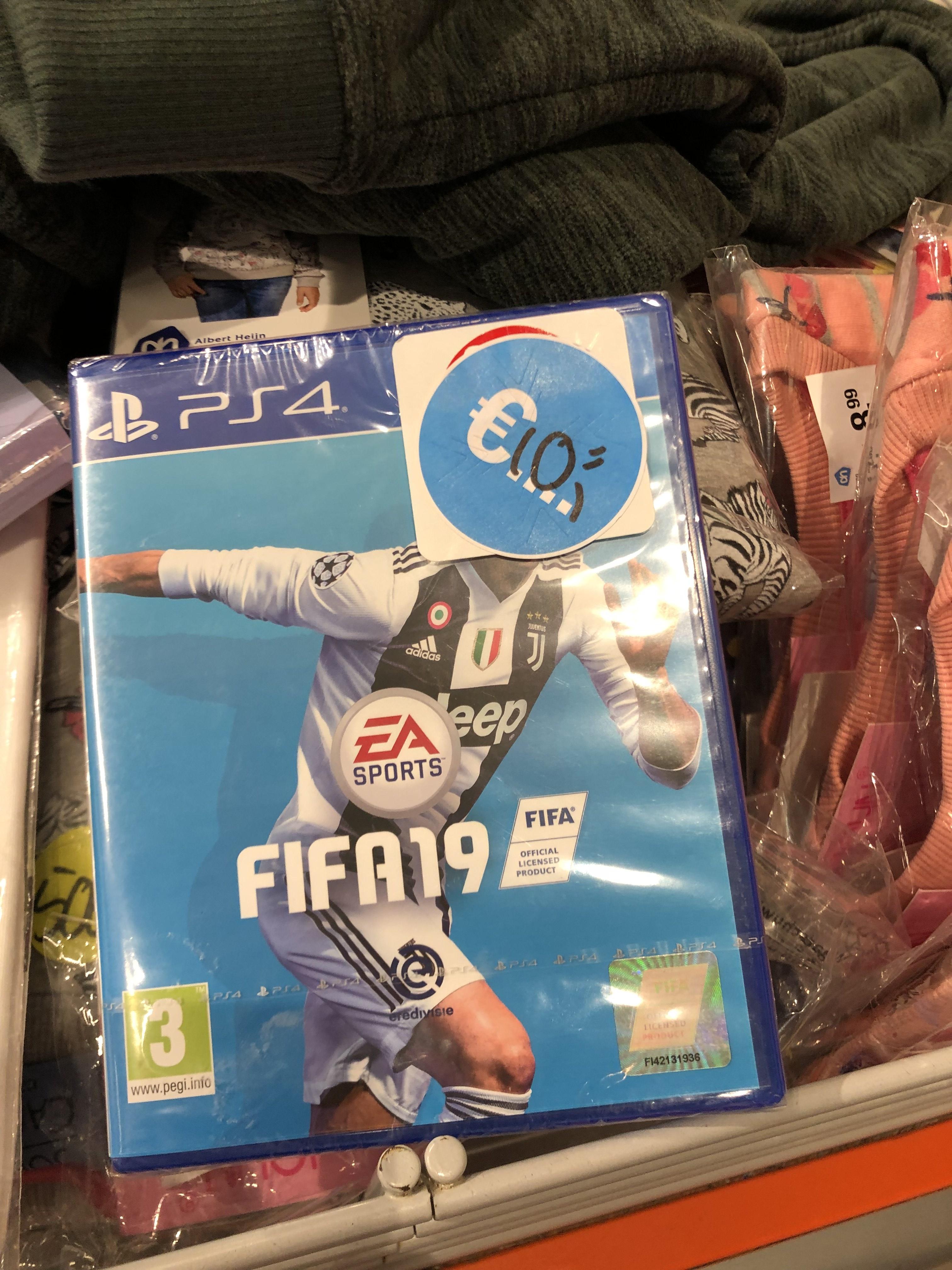 Lokaal Ah Leidschendam FIFA 19 PS4 voor een tientje