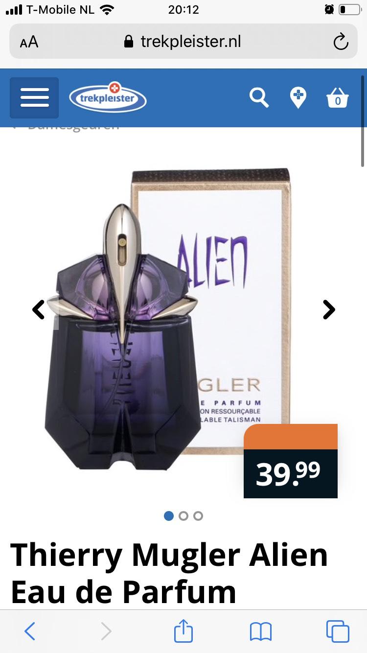 Thierry Mugler Alien Eau de Parfum 30ml €39.99 @trekpleister