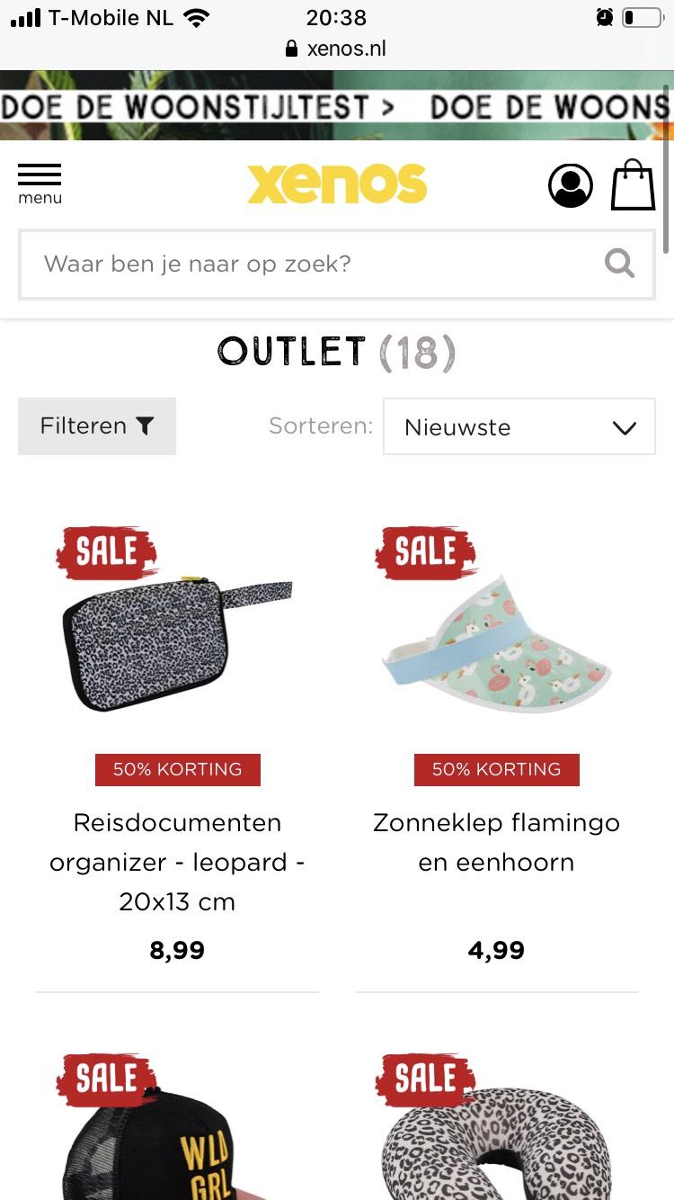 Outlet vanaf €0,89 @Xenos