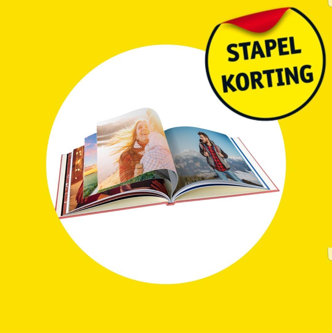 Stapelkorting kruidvat fotoboeken