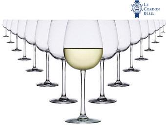 16x Le Cordon Bleu Wittewijnglas (91% korting)
