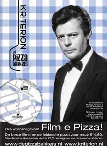 Lokaal Amsterdam: 14,50 Elke Woensdag Film&Pizza @Kriterion/PizzaBakkers