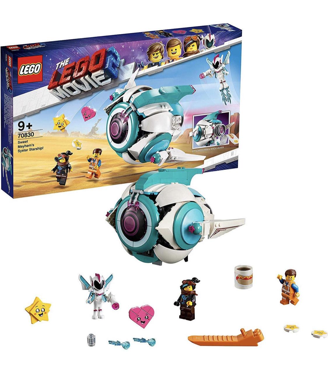 THE LEGO MOVIE 2 70830 Sweet mengmachine Systar ruimteschip