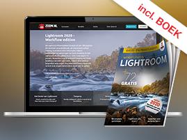 50% korting op Lightroom cursus (boek + online cursus + extra downloads