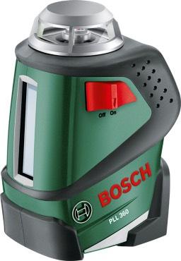 Bosch lijnlaser 360 graden