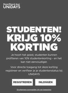 10% studenten korting | JD Sports