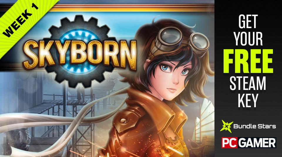 Gratis game Skyborn (Steam) t.w.v. €14,99 @ Bundle Stars