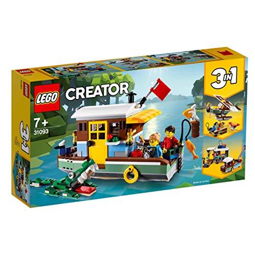 LEGO Creator 31093 - Woonboot aan de rivier - Amazon.de