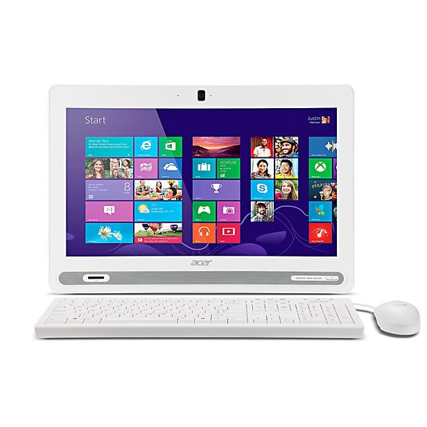 Acer Aspire ZC-602 D4110W NL all in one computer voor € 395,- @ Wehkamp