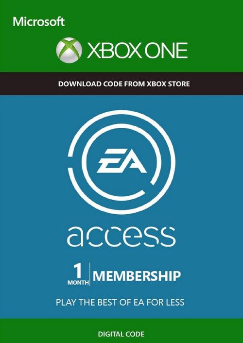 EA Access 1 maand Xbox One - Dagdeal @ CDKeys