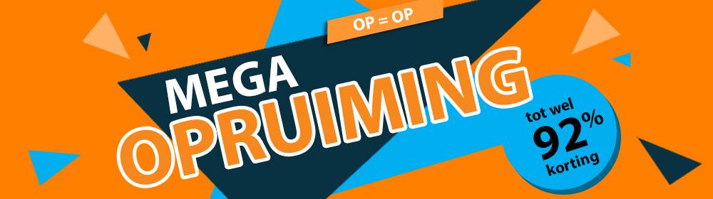 Mega opruiming tot 92% korting OP=OP @ internet-bikes.com