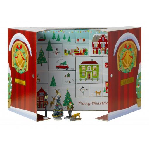 Intratuin adventkalender kerstdorpminiatuur