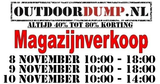 Magazijnverkoop, www.Outdoordump.nl, Haghorst bij Tilburg, o.a. winterspullen