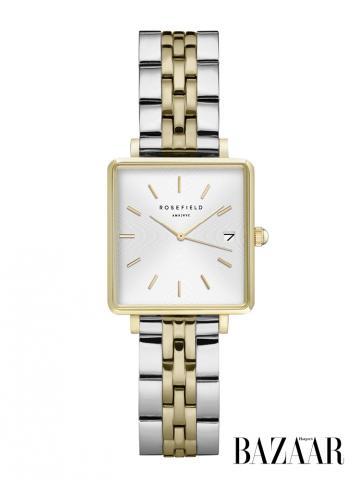 Rosefield Horloge bij Harper's Bazaar