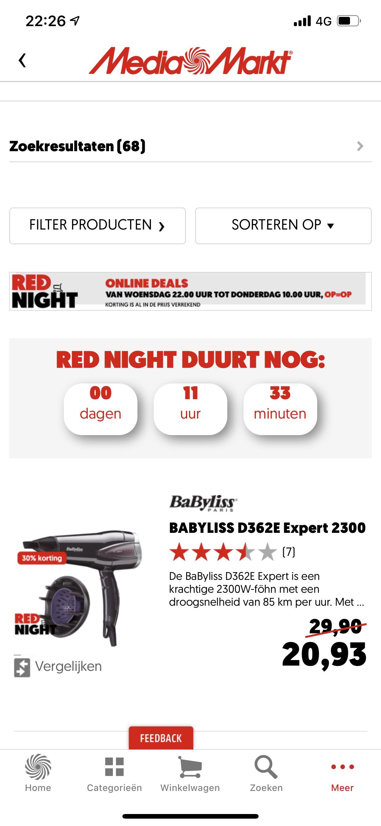 Mediamarkt Red Night Deal