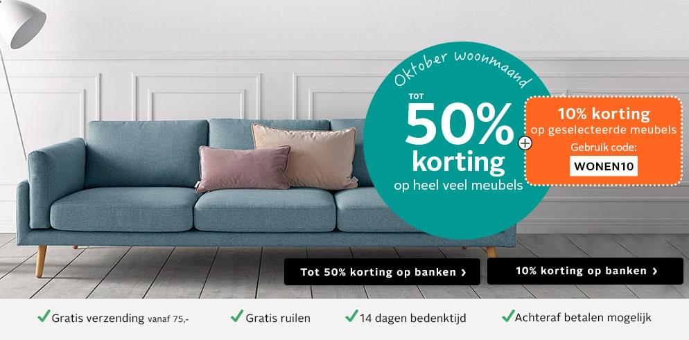 Tot 50% korting + 10% extra op veel meubels bij OTTO