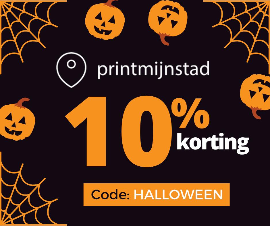 10% halloween korting op alle posters @ Printmijnstad