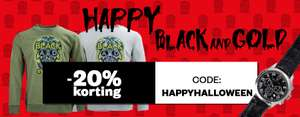 Black & Gold (herenmode + accessoires) 50-70% korting + 20% extra @ Maison Lab