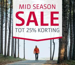 Bever.nl, Buitensport, Mid Season Sale, tot 25%