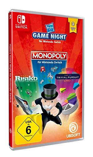 Switch Hasbro Game Night (monopoly, risk, trivial pursuit) voor €23,29 @ amazon.de