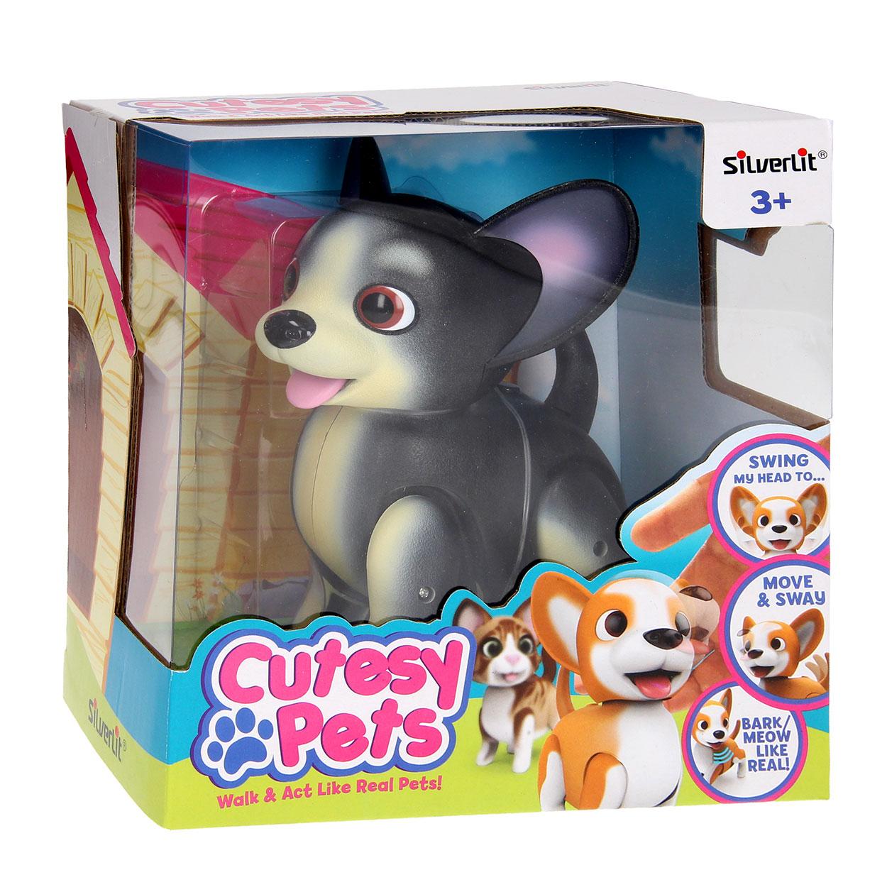 Silverlit Cutesy Pets - Puppy - Lobbes.nl