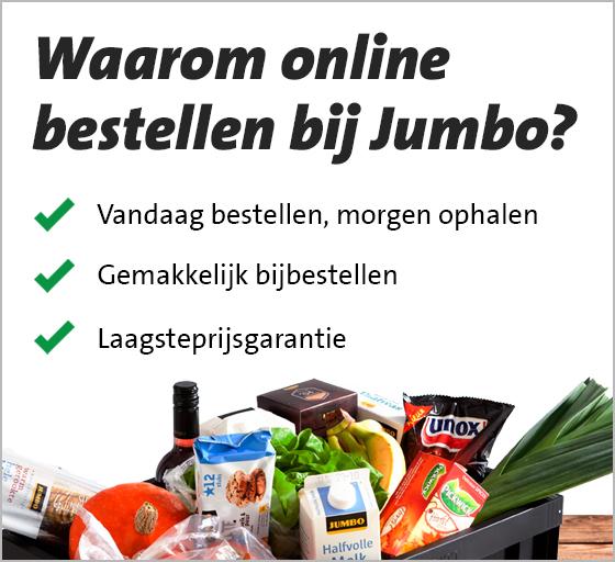 10 euro korting op online boodschappen Jumbo