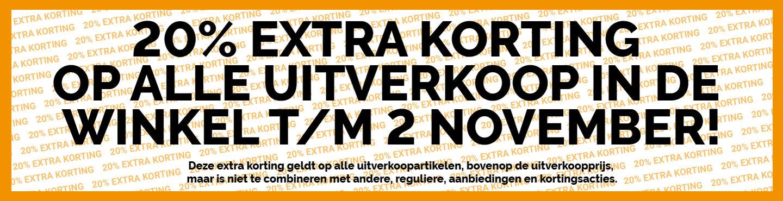 Zwerfkei, Buitensport, 20% extra korting op alle uitverkoop, t/m za 2 november, 621 artikelen
