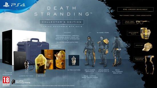 Death Stranding Collector's Edition PS4 pre-order 6 november om 16:00 @ Bol.com