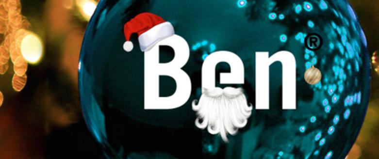 Kerstkaarten sturen via Ben