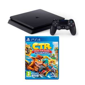 PlayStation 4 Slim 500GB Crash Team Bundel