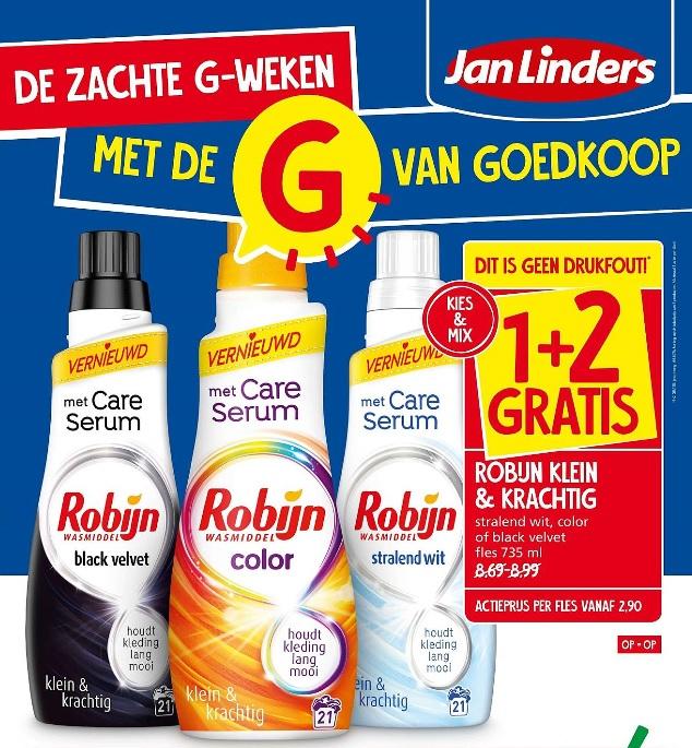 Jan Linders: 1+2 gratis op Hertog ijspotje en Robijn Klein & Krachtig