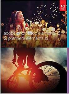 Adobe Photoshop & Premiere Elements 15 @Amazon.de