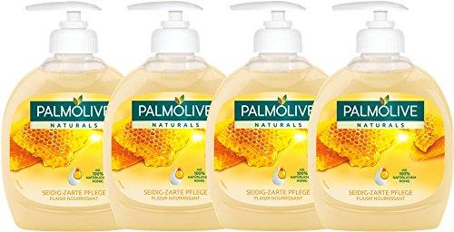 Palmolive handzeep (4x300 ml) melk en honing voor €1,39 @ Amazon.de