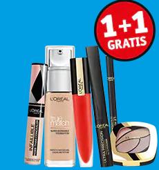 L'oréal Paris weekendactie 1+1 gratis