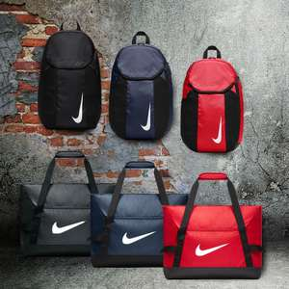 Actie: 2-delige Nike tassenset 'Team' + gratis verzending t.w.v. €9,95 @ Geomix