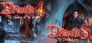 Gratis steam game: Dracula 4 and 5!