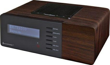 Soundmaster UR180DBR DAB+ en FM Radio donkerbruin