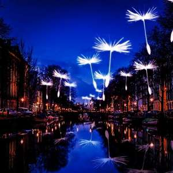 Rondvaart tijdens Amsterdam Light Festival €19,50 p.p.