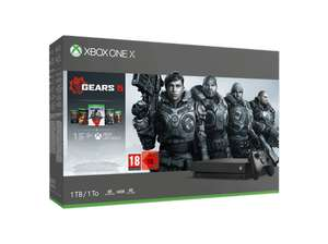 Xbox One X console 1TB + Gears of War Collectie + Call of Duty: Modern Warfare @ Media Markt