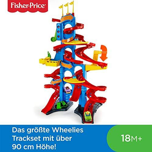 Fisher-Price Little People autoracebaan (90CM!) (FXK59)