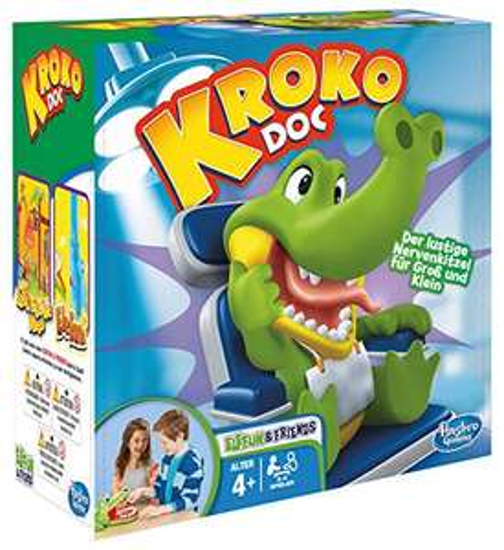UPDATE! Krokodil met kiespijn (DE versie) (Amazon.de)