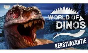 Tickets voor World of Dinos Den Bosch slechts €10,39