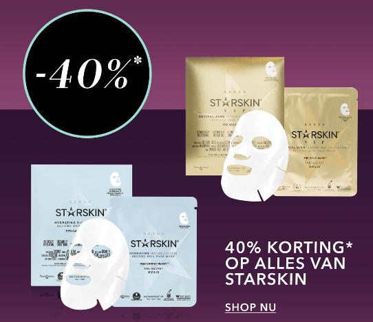40% korting op alles van STARSKIN bij Douglas