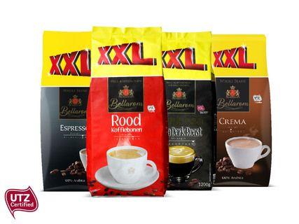 Lidl 1,2 kilo koffiebonen voor €4,99
