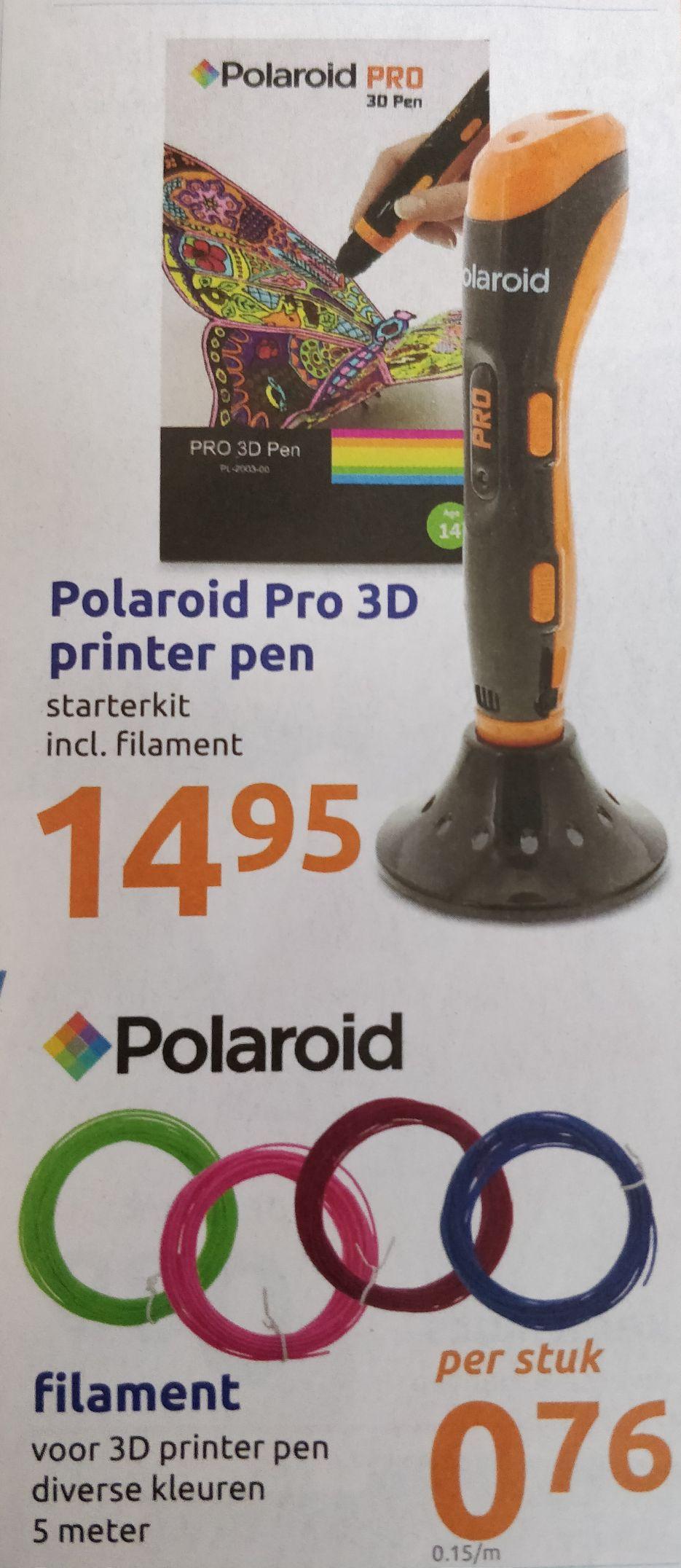 Polaroid 3D printer pen