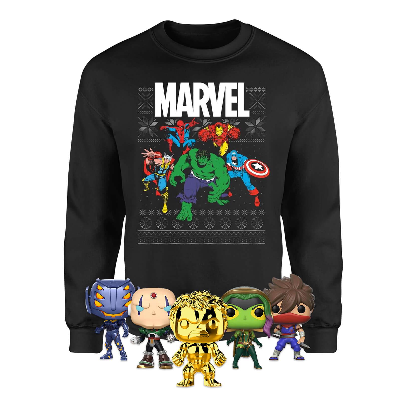 Marvel mega kersttrui bundel